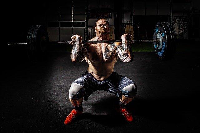 Muskelaufbau mit Pausen
