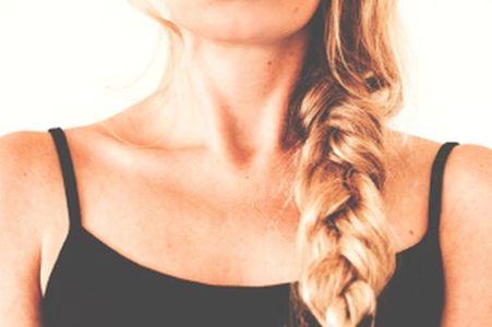 Trockenshampoo jede Haarfarbe DIY Zopf