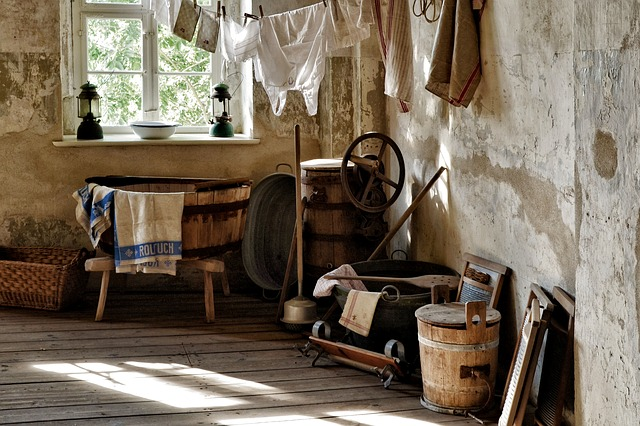 Sprichwörter und Redewendungen - schmutzige Wäsche waschen