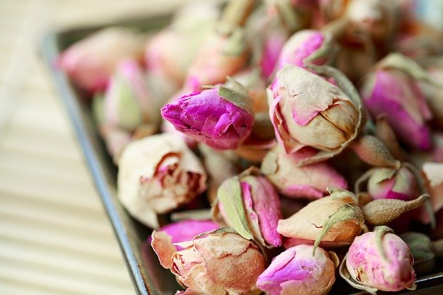 Aromen - Rosenblüten
