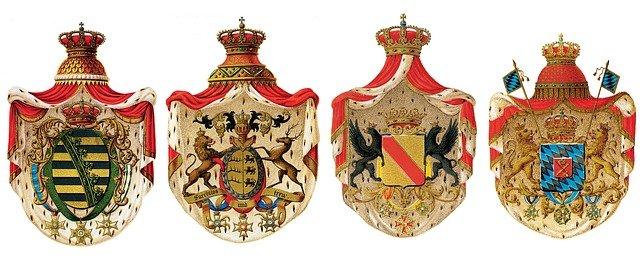Adel Geld Sprüche Redewendung Krone Wappen